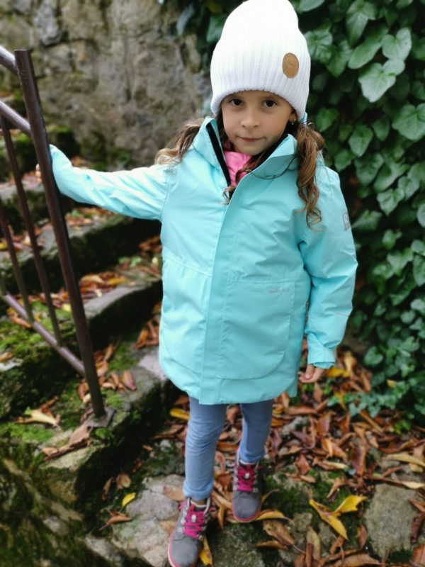 Reima Kulkija zimna detska bunda pre dievca