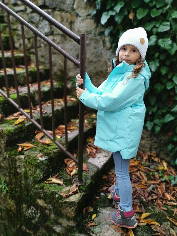 Reima Kulkija detska dievcenska lyziarska bunda