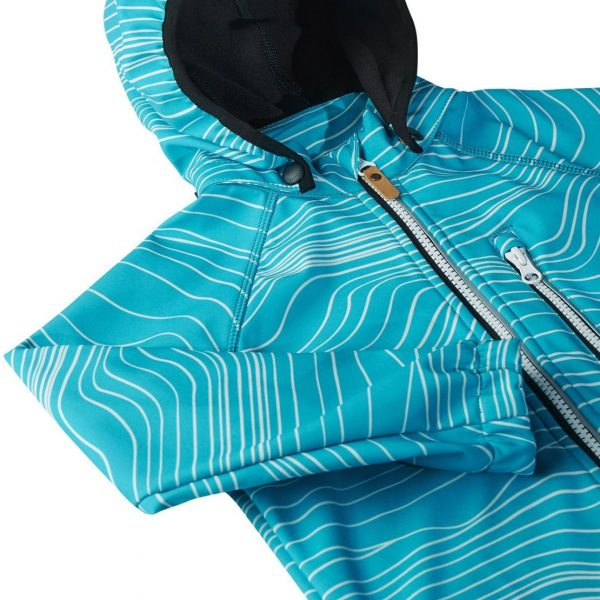 Reima Vantti - Aquatic 521569-7339 chlapcenska softhellova bunda