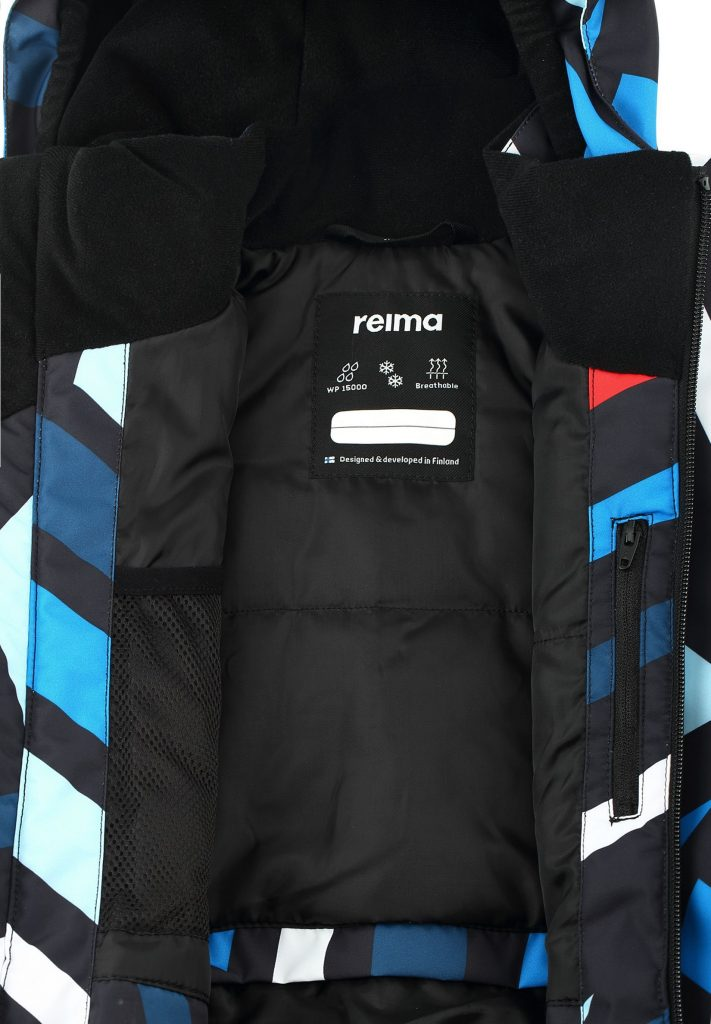521615b-9997_Reima Regor lyziarska bunda pre chlapca na zimu