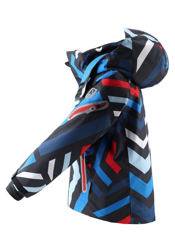 eima Regor modra lyziarska bunda pre chlapca