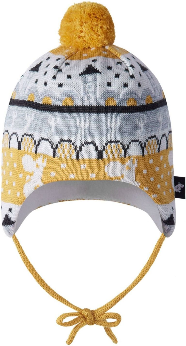 Reima Moomin Yngst - Ginger yellow vlnena ciapka pre babatka