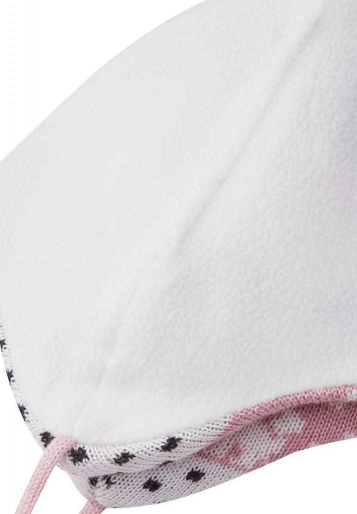 518575m-4301_Reima Moomin Yngst - Blush pink vlnena zimna ciapka pre babatko ruzova
