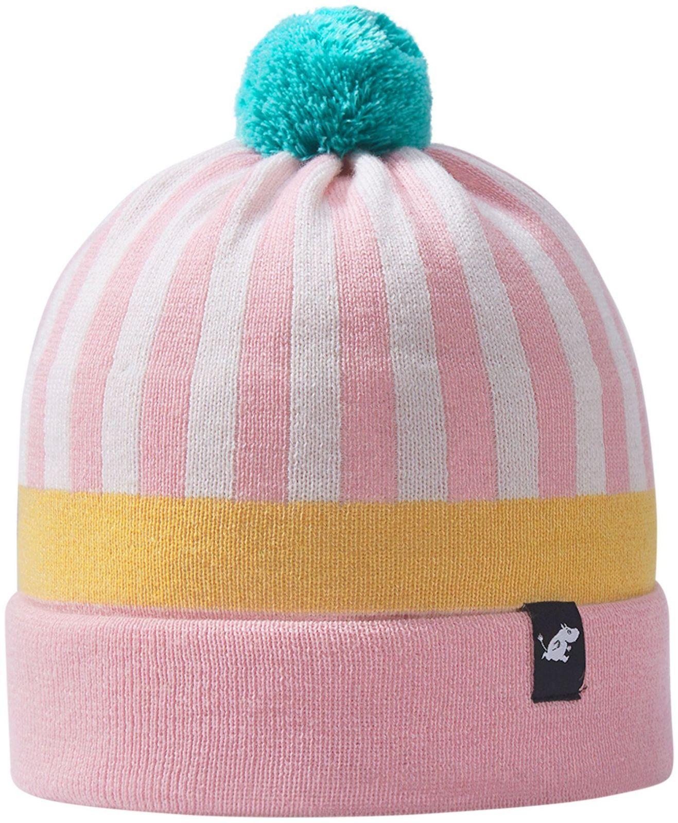 528736-4551_Moomin Flinga pink dievcenska vlnena zimna ciapka