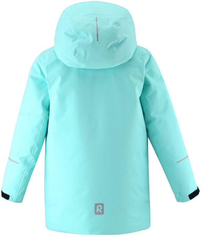 531485-7150_Reima Kulkija - Light Turquoise tyrkysova bunda na lyze pre dievcata