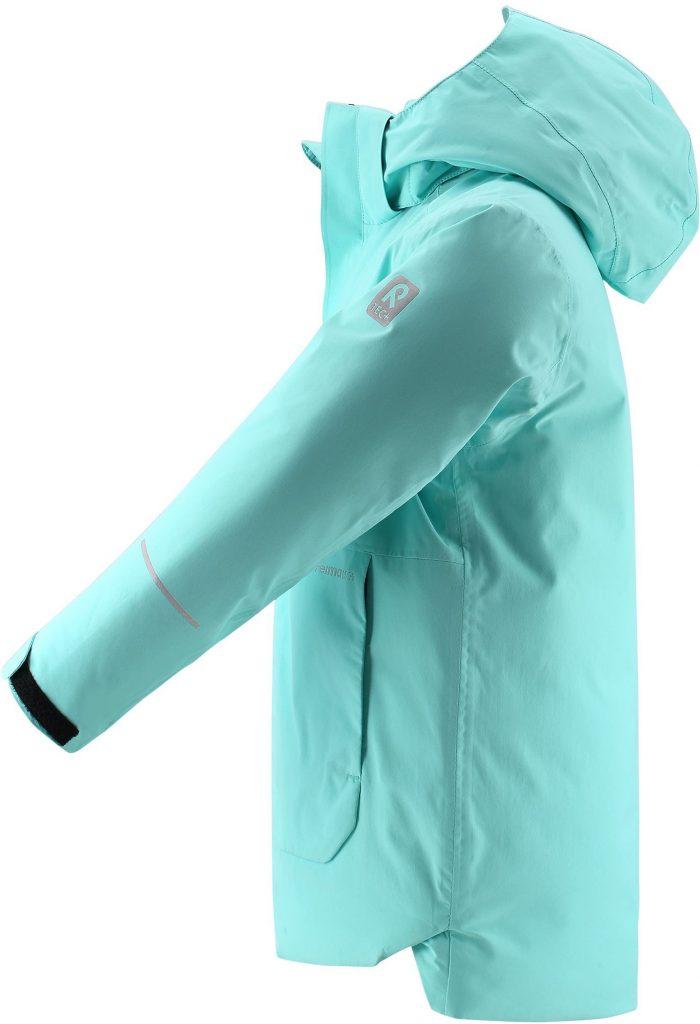 531485-7150_Reima Kulkija - Light Turquoise zimna bunda pre diev