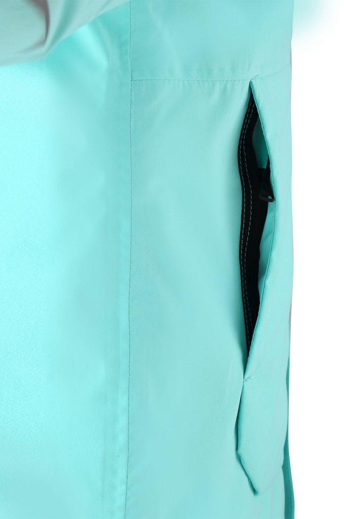 531485-7150_Reima Kulkija - Light Turquoise zimna bunda pre dievcata lyziarska