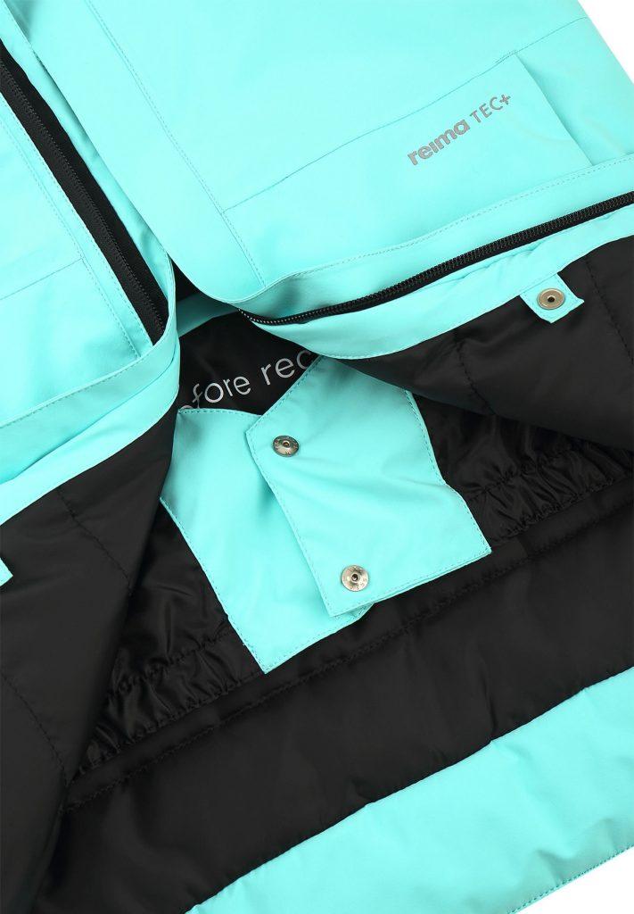 531485-7150_Reima Kulkija - Light Turquoise zimna detska lyziarska bunda