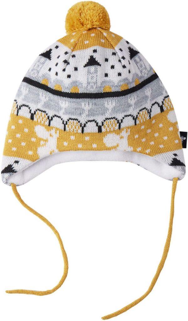 Reima Moomin Yngst - Ginger yellow vlnena ciapka pre batola