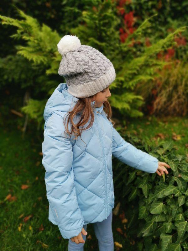 Reima Heiberg dievcenska paperova zimna bunda